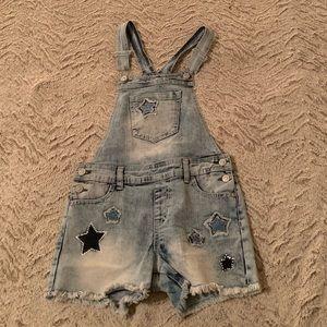 Cute Girls Jean short overalls